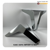 Kaki Sofa K102 Stainless New Model